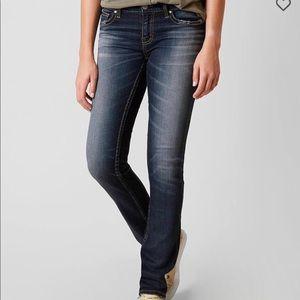 BKE Payton straight stretch jeans, stonewashed